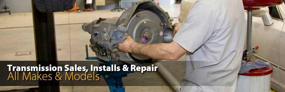Transmission Sales, Installs and Repair - All Makes and Models