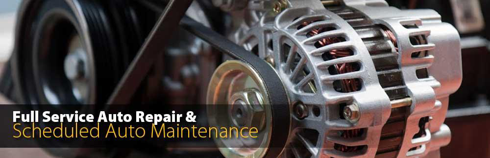 Full Service Auto Repair and Scheduled Auto Maintenance